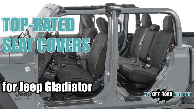 top jeep gladiator seat covers