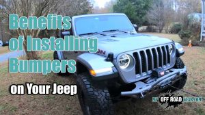 Benefits Of Installing Bumpers on Your Jeep