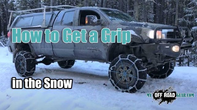 How to Get a Grip in the Snow