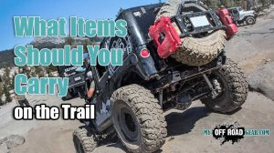 What Items Should You Carry on the Trail