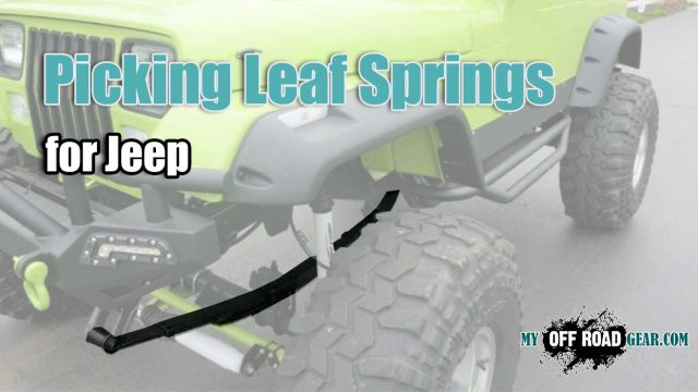 best leaf springs for jeep
