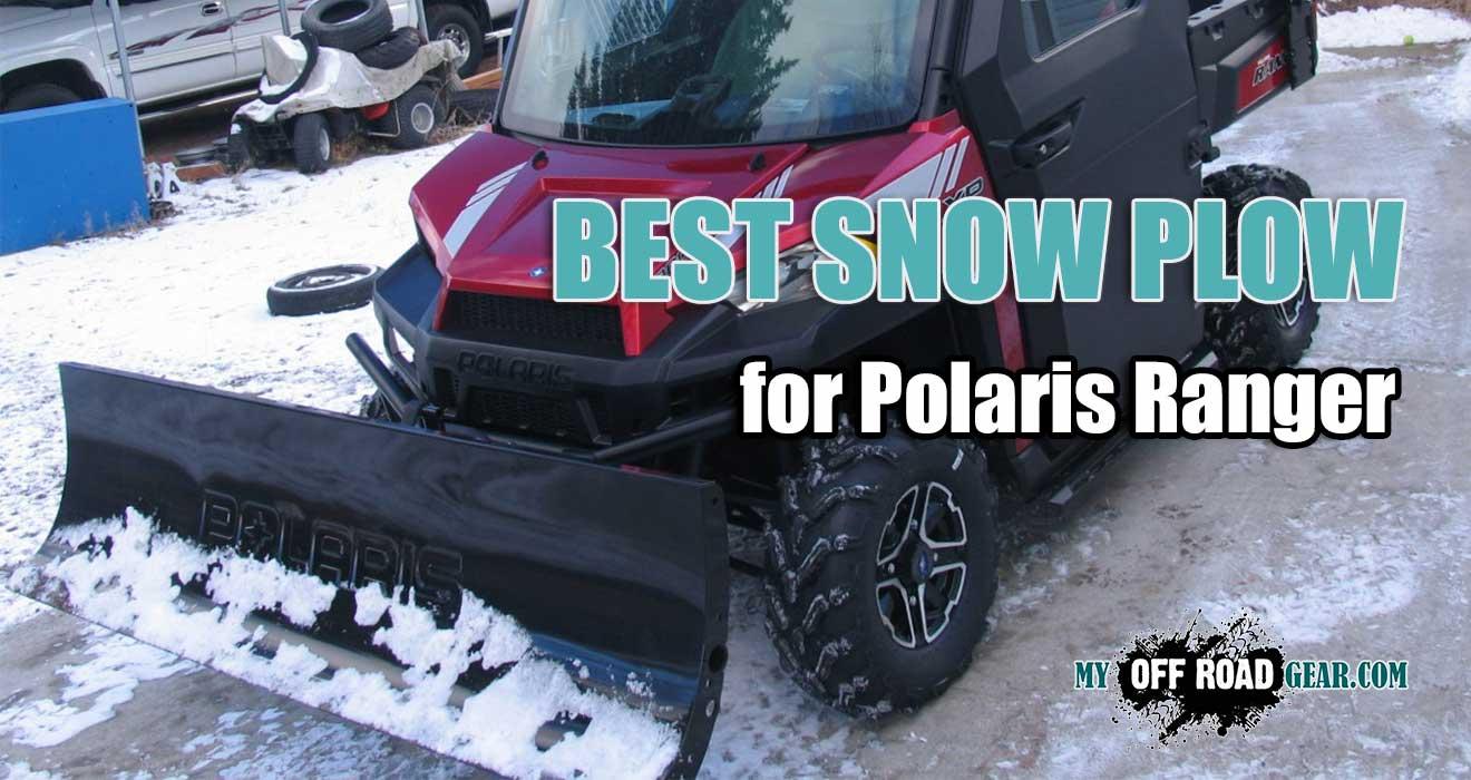 best snow plow for polaris ranger 900XP