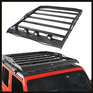 Top Roof Rack Cargo Carrier for Jeep JL