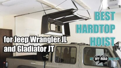 Best hardtop hoist for jep wrangler jl and gladiator