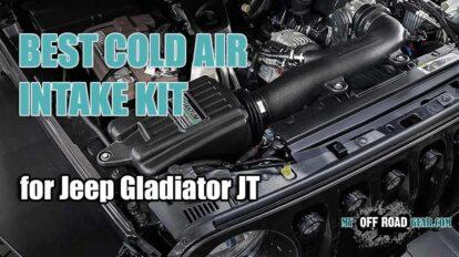 Best Jeep Gladiator Cold Air Intake Kit