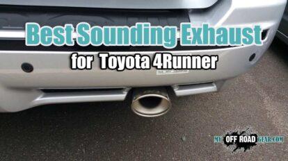 Best Exhaust for Toyota 4Runner